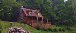 Eureka Springs Rental Cabins with beautiful mountain views